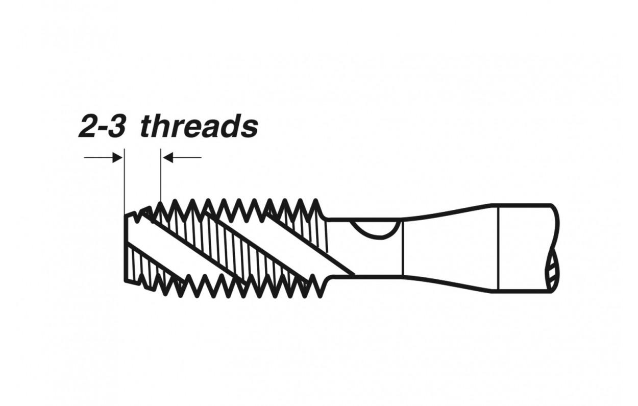VÖLKEL Mf 3-15 HSS-E Form B DIN 374 Maschinengewindebohrer Linksgewinde