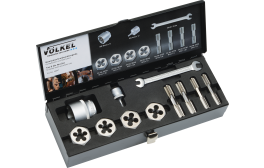 Tap & Hexagon Die Nut Set for wheel studs and wheel nuts