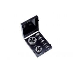 P.V.99 Cojinetes hexagonal (juego de 7 piezas) DIN-standard HSS M 3 – M 12