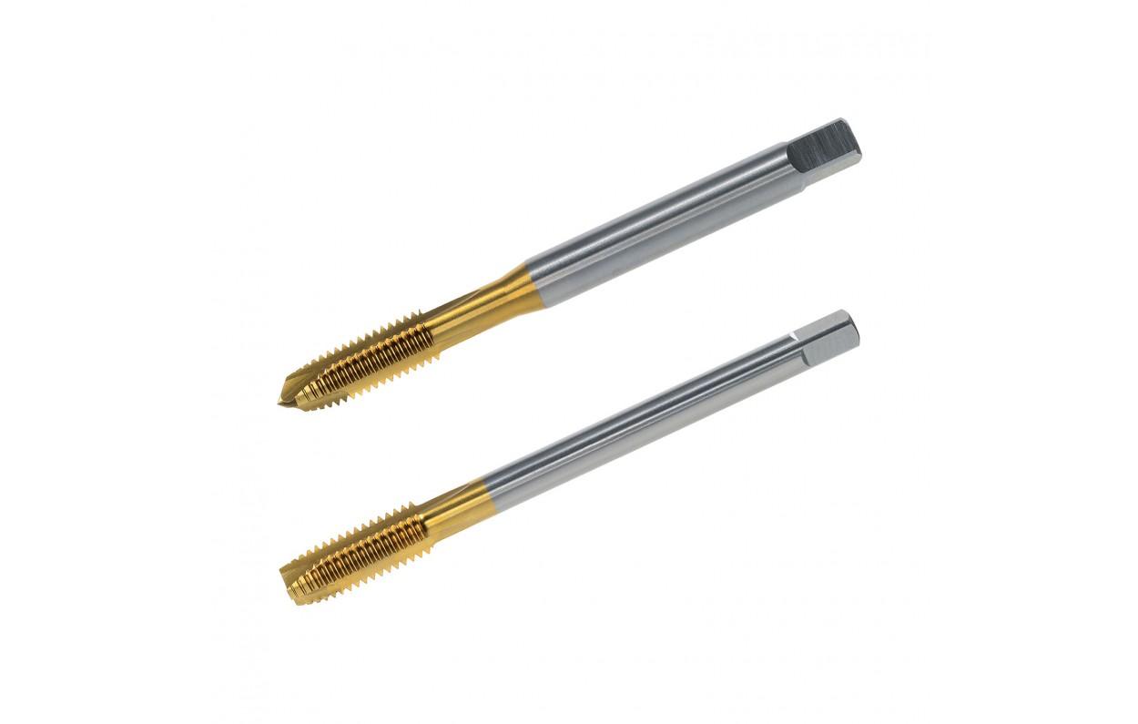 /R/ègle filetage DIN 371/forme C ISO2//6H/ Taraud M6/ /universelle dExp/édition /QUALIT/É acier rapide Tin/