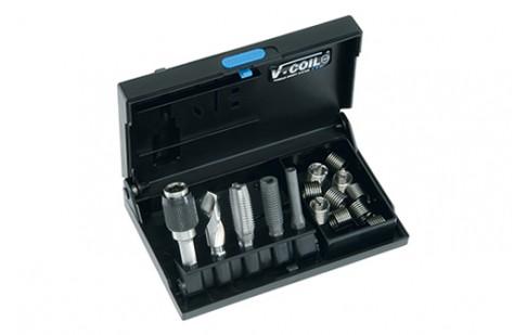 V-Coil Filetage De Réparation De DIN 8140 type Stand.m8x1,25mm rostfr Acier 1,5xd