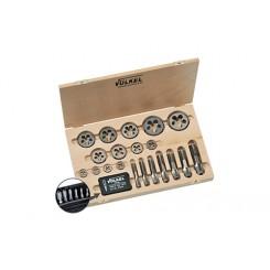HexTap - Maschi doppio con filiere (set di 22 pezzi) M 3 – M 20